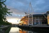 Millennium Stadium From The Riverside